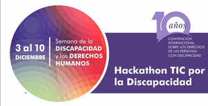 IV Hackatón de desarrollo para la inclusión de personas con discapacidad