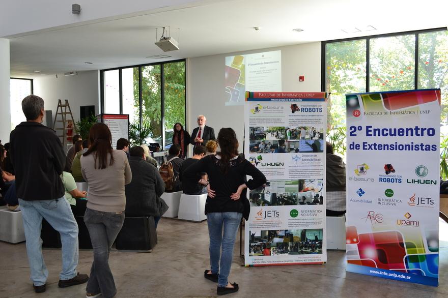 Se realizó el 2do Encuentro de Extensionistas en la Facultad de Informática 4